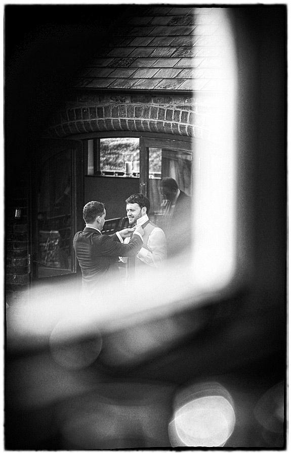wedding at Dodmoor House
