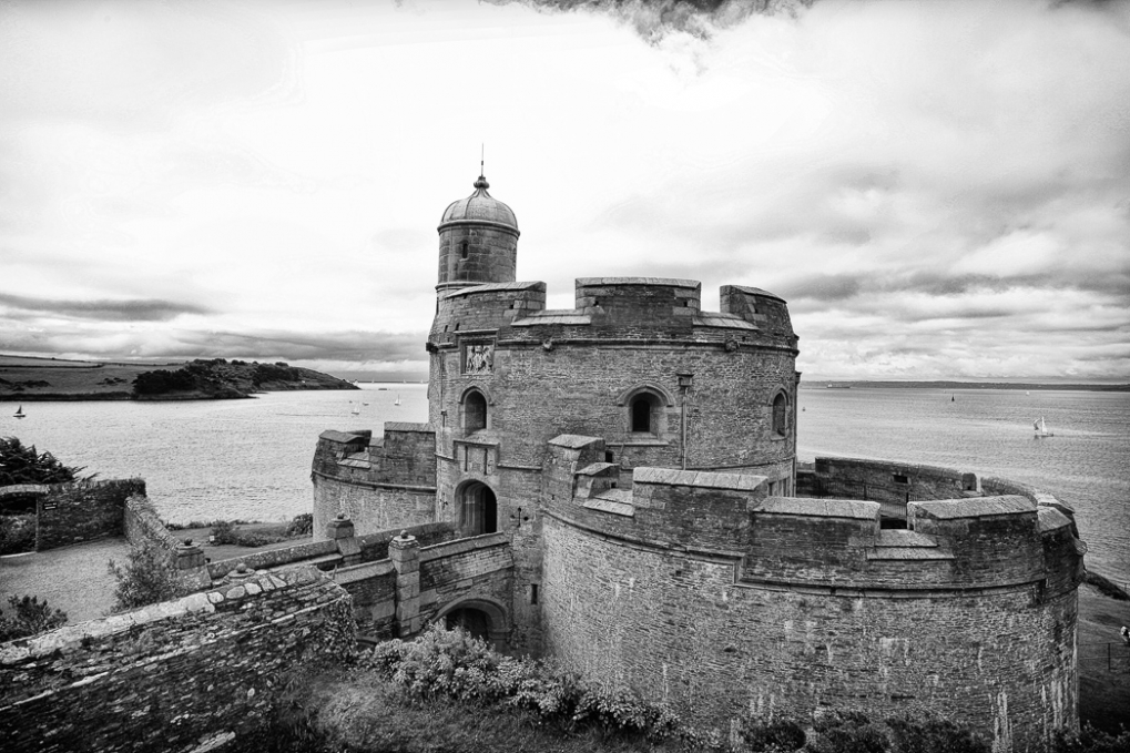 St Mawes Castle in Cornwall